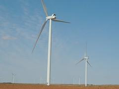 Wind Farm (ptcruiser4dogs) Tags: windfarm turbine windturbine energy farmcountry farmland oklahoma deercreek cashion country bfe dirtroads