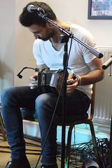 Talisk (2016) [2nd] 02 - Mohsen Amini (KM's Live Music shots) Tags: folkmusic greatbritain scotland scottishfolk irishfolk talisk mohsenamini angloconcertina concertina sidmouthfolkweek kennawayhouse