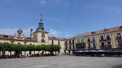 2016-8205 El Burgo de Osma - Plaza Mayor (Wolfgang Appel) Tags: wolfgappel spanien spain espana soria elburgodeosma burgodeosma plazamayor