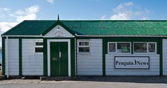 18th 101 (brads-photography) Tags: bluesky building falklandislands greenroof newspaper penguinnews portstanley stanley