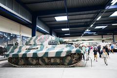 "Panzer VI Tiger Ausf. B ""Königstiger"" (jordic83) Tags: seleccionar museedesblindes saumur konigstiger kingtiger panzer tank ww2"