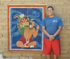 Roman Hernandez Weaver Oaxaca (Ilhuicamina) Tags: tapete teotitlan oaxaca mexican mexico maya weavings zapotec portraits artesano people