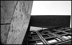 in the corner (LawsPhotography) Tags: inthecorner amsterdam amsterdam2014 clawsphotography christianlaws netherlands niederlande europe europa openbarebibliotheekamsterdam architecture architektur blackandwhite bw schwarzweiss