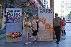 NPS 100th Anniversary on Fremont Street (Lake Mead National Recreation Area) Tags: lakemead tulesprings nevada arizona nationalparkservice centennial findyourpark nps100