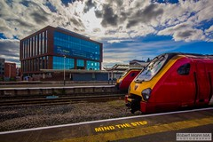 ChesterRailStation2016.09.22-4 (Robert Mann MA Photography) Tags: chesterrailstation chesterstation chester cheshire chestercitycentre trainstation station trainstations railstation railstations arrivatrainswales class175 class150 virgintrains class221 supervoyager class221supervoyager merseyrail class507 city cities citycentre architecture nightscape nightscapes 2016 autumn thursday 22ndseptember2016 trains train railway railways railwaystation