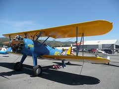 "Stearman PT-13D Kaydet 2 • <a style=""font-size:0.8em;"" href=""http://www.flickr.com/photos/81723459@N04/29336136830/"" target=""_blank"">View on Flickr</a>"