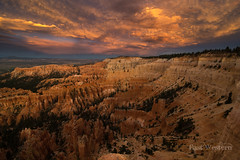 Stormy Sunset at Bryce Canyon (East Western) Tags: bryce canyon national park amphitheatre sunset stormy hoodoo hoodoos sunrise point utah ut
