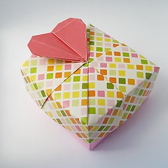 Heart Box (modular.dodecahedron) Tags: tomokofuse modularorigami origamibox
