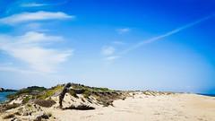 Mediterranean sea VIII (Quique CV) Tags: mediterranean sea mediterraneo valencia coast costa sand arena dune dunas summer verano 2016 perellonet sky blue