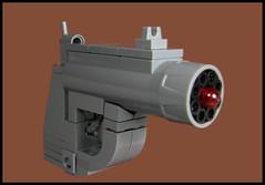 Derringer Blaster (Karf Oohlu) Tags: lego moc gun pistol derringer weapon