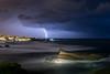 Lightning on Biarritz (Romain Archimbaud) Tags: éclairs longexposure paysage ocean basquecountry nature biarritz lightning seascape orages storm poselongue paysbasque