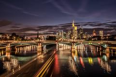 Citylights (Achim Thomae) Tags: frankfurt architektur cityscape germany stadt achimthomae 2016 thomae stadtlandschaft deutschland