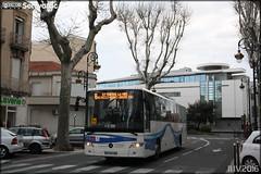 Mercedes-Benz Intouro - Keolis Aude / Citibus n143016 (Semvatac) Tags: semvatac photo bus tramway mtro transportencommun mercedesbenz intouro dd947hw keolisaude citibus 8 boulevardgnraldegaulle narbonne aude