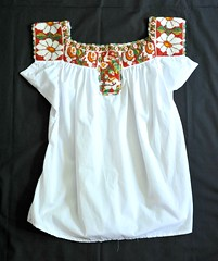 Beaded Mexican Blouse Oaxaca (Teyacapan) Tags: mexico mexican blusas blouses clothing textiles oaxacan chaquira beads pinotepanacional