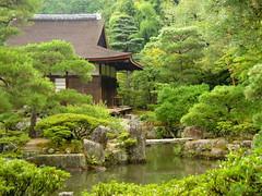 Kyoto tea house in the forest (Germn Vogel) Tags: tree green japan forest japanesegarden pond kyoto asia traditional kansai teahouse contemplation ginkakuji eastasia silverpavillion ginkaku earthasia