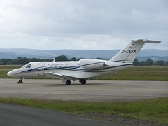 D-CEFA Cessna 525C Citationjet (egpfpics) Tags: cessna citationjet 525c dcefa