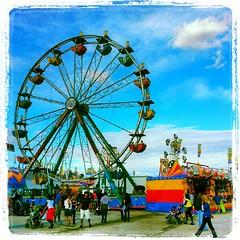 Wisconsin State Fair - Spin City Amusement (Ironworker63) Tags: carnival wisconsin amusement statefair milwaukee ferriswheel midway spincity