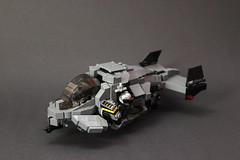 DARKWATER Air Shark Mk II (✠Andreas) Tags: shark lego gunship purge sharkair legogunship vtolvtolmilitarythe darkwaterdarkwaterdarkwater gunshipair