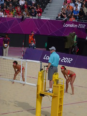 Beach Volleyball London 2012 Olympics Opening match Russia V China 28th July 2012 0900 Hours including the sexy Horse Guards Dance Group (Le monde d'aujourd'hui) Tags: china horse sexy london dance russia group july v match opening hours volleyball olympics guards 2012 28th including 0900 olympicbeach