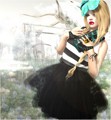 - never be the same again - #3 (FlowerDucatillon) Tags: flower fashion blog post secondlife secondlifefashion teefy kunglers lagyo slupergirls flowerducatillon