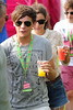 Louis Tomlinson V Festival 2012 held at Hylands Park - Performances - Day Two Essex, England