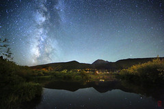 Sitting on the Dock (@!ex) Tags: longexposure mountains night stars colorado galaxy astrophotography breckenridge milkyway mthelens canonef14mmf28liiusm canon5dmkiii