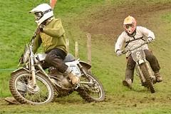 Nostalgia 2012  -   Steve Dent leads Carl Woolaston (ericmiles47) Tags: dent cheney bsa faber classicscramble woollaston
