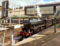 Journey's End (Kingmoor Klickr) Tags: station citadel steam cumbria carlisle mainline 45305 gordonedgar merseymoorlander