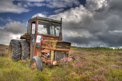 Sods Law (Mattpotts) Tags: tractor abandoned bog hdr turf balina ireand