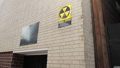 Fallout shelter from cold war era (ebright) Tags: dallas war downtown texas shelter coldwar fallout