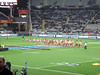 Bledisloe Cup, New Zealand Vs Australia, Eden Park (russelljsmith) Tags: red newzealand rugby edenpark coat australia auckland seats maori players allblacks 2012 haka bledisloecup 77285mm