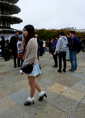 SEARCHING (Lulu Vision) Tags: sanfrancisco people girl festival jpop peaceplaza cutesocks