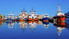 Fremantle Harbour (Jamie Frith) Tags: water port reflections boat fishing nikon perth sail fremantle westernaustralia trawler d800 cicerellos 2470