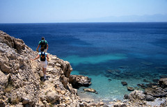 towards aforesmenos cape (angelobike) Tags: greece crete  eikones elladas
