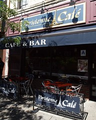 Parisienne Cafe & Bar, Little Italy, Bronx, New York City (jag9889) Tags: county city nyc italy ny newyork retail shopping restaurant cafe belmont bronx district borough littleitaly stores 2012 parisienne arthuravenue 187street jag9889 y2012