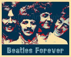 Beatles Forever (ilens.artography) Tags: apple pop popart beatles psychedelic thebeates