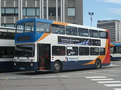 Stagecoach Bluebird Volvo Olympian 16116 Aberdeen 16/08/12 (David_92) Tags: bus station volvo aberdeen bluebird northern jaz stagecoach counties palatine olympian 9854 i 16116 jaz9854