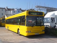 Lewisham Station (Ryanbus22) Tags: bus buses big lemon brighton south dennis dart the slf plaxton x224wno