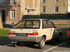 Renault 11 TC 1984 (XBXG) Tags: auto old france classic car vintage french automobile 11 voiture renault 1984 tc frankrijk ancienne française givet renault11