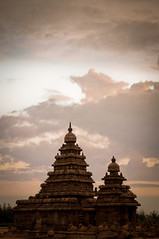 Shore Temple (Karthi KN Raveendiran) Tags: india art stone temple ngc shore chennai incredible tamil tamilnadu mahabalipuram mahabs shoretemple pallavashoretemplekarthikn