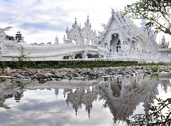 THAILAND (BoazImages) Tags: white architecture asian thailand temple asia contemporary buddhist culture southeast wat chiangrai watrongkhun