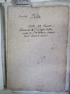 Testamento di Cristoforo Paglia, 1717