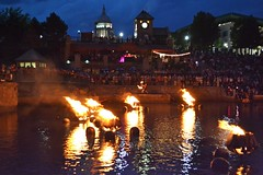 Fire Dancer in the basin