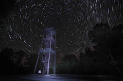 Star Trails at Eagle Tower, Peninsula State Park, Door County, Wisconsin   NaturesCallingTheShots.com (NaturesCallingTheShots) Tags: startrails peninsulastatepark eagletower doorcountywisconsin stevemccuskeyphotography naturescallingtheshotscom