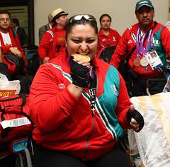 ngeles Ortiz / Regreso a Mxico (@CONADE) Tags: sport mexico juegos londres mexicanos deporte regreso mexicans cultura ortiz 2012 fsica ngeles paralmpicos comisinnacional