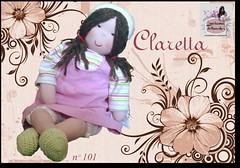 Claretta - 101 - (Luciana Dollsmaker) Tags: doll arte bambini rag serie ragdoll bambole gioco giocattoli hobbie stoffe artigianato cucito infanzia bamboledipezza bamboline hobbistica lavorifattiamano lucianadollsmaker