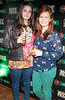 Odessa Stafford and Nuala Duffy at the Jameson Launch Party for the Hot Press Yearbook 2012 at The Workman's Club,Dublin..Picture Brian McEvoy