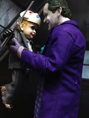 Joker & Grandson (hoeynairda) Tags: hot art beautiful toy toys photo starwars lego image photos shots pics supermodel spiderman ironman images heath batman joker ba gundam sideshow wolverine hasbro hottoys hottoy