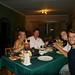 Um dos jantares com nossos amigos: Trudi e Alex