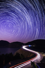 High Island Reservoir - East Dam () Tags: night landscape hongkong pentax  k5 saikung startrail    highislandreservoir  eastdam